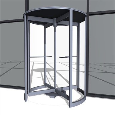 BIM-object-revolving-door